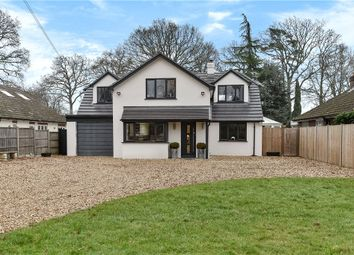 Thumbnail 5 bed detached house for sale in Reading Road, Finchampstead, Wokingham