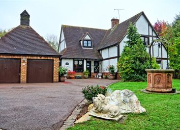 Thumbnail 4 bed detached house for sale in Wiscombe Hill, Langdon Hills, Essex