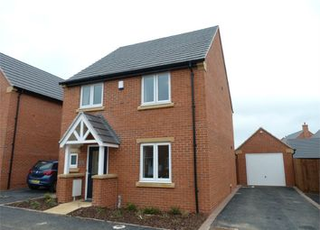 Thumbnail 3 bedroom detached house to rent in Poppy Road, Lutterworth