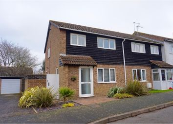 Thumbnail 4 bedroom end terrace house for sale in Elm Road, Folksworth