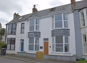 Thumbnail 3 bed terraced house for sale in Golf Terrace, Newquay
