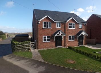 Thumbnail 3 bed semi-detached house for sale in Garden City, Tern Hill, Market Drayton