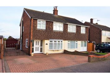 Thumbnail 3 bed semi-detached house for sale in Alexander Drive, Faversham