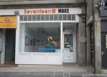 Thumbnail Retail premises to let in 17 Belmont Street, Aberdeen, Aberdeenshire
