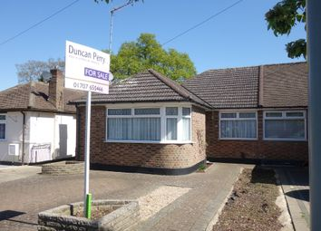 Thumbnail 3 bed semi-detached bungalow for sale in Aberdale Gardens, Potters Bar, Herts