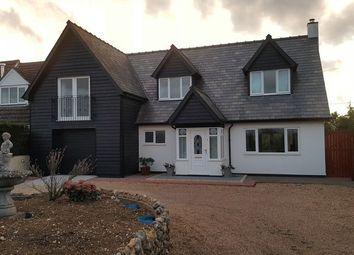 Thumbnail 5 bed detached house for sale in Brockley Green, Hundon, Sudbury