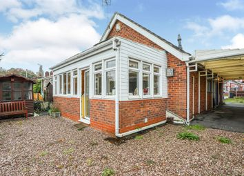 Thumbnail 2 bed detached bungalow for sale in London Road, Northwich