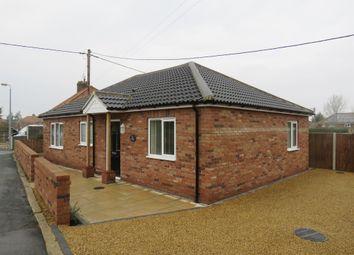 Thumbnail 2 bed detached bungalow for sale in Park Close, Silfield, Wymondham