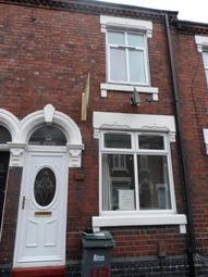 Thumbnail 3 bedroom terraced house to rent in Thornton Road, Stoke On Trent, Staffordshire