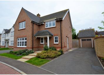 Thumbnail 4 bed detached house for sale in Meadow Bank, Towcester