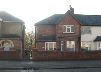 Thumbnail 3 bed semi-detached house to rent in Kingsland Avenue, Kingsthorpe, Northampton
