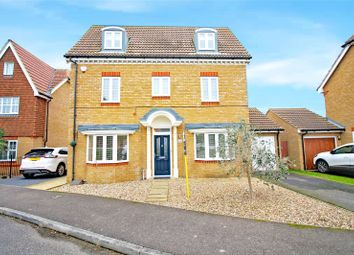 Thumbnail 4 bedroom detached house for sale in Cormorant Road, Iwade, Sittingbourne, Kent