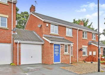 Thumbnail 3 bed semi-detached house for sale in Vicarage Close, Hetton-Le-Hole, Houghton Le Spring
