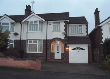 Thumbnail 4 bedroom semi-detached house to rent in Temple Drive, Nuthall, Nottingham