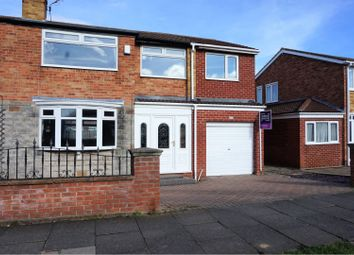 Thumbnail 4 bedroom semi-detached house for sale in Bader Avenue, Stockton-On-Tees