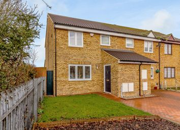 Thumbnail 3 bed end terrace house for sale in Pease Close, Hornchurch