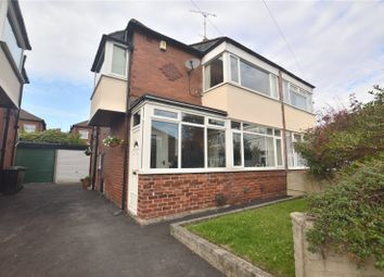 Thumbnail 3 bedroom semi-detached house for sale in Grange Park Grove, Leeds, West Yorkshire