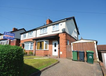Thumbnail 3 bed semi-detached house for sale in Churchfields Road, Wednesbury, West Midlands