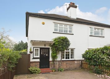 Thumbnail 2 bed semi-detached house for sale in Grove Footpath, Surbiton