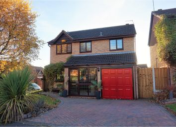 Thumbnail 4 bedroom detached house for sale in Woburn Croft, Sandiacre