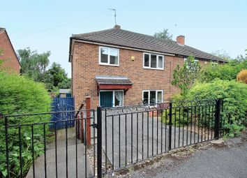 Thumbnail 3 bed semi-detached house for sale in Earl Crescent, Gedling, Nottingham