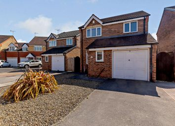 Thumbnail 3 bed detached house for sale in Harden Close, York