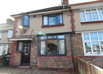 Thumbnail 3 bed terraced house for sale in Marlowe Road, Broadwater, Worthing