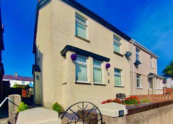 Thumbnail 3 bed semi-detached house for sale in Y Glyn, Caernarfon