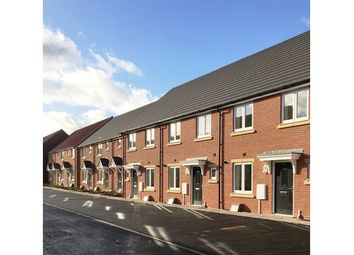 Thumbnail 3 bed town house for sale in 72, Windsor Way, Broughton Astley, Leicestershire