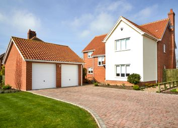 Thumbnail 4 bed detached house for sale in Vicarage Road, Wingfield, Diss