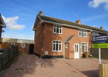 Thumbnail 3 bed semi-detached house for sale in South Green, Coates, Peterborough