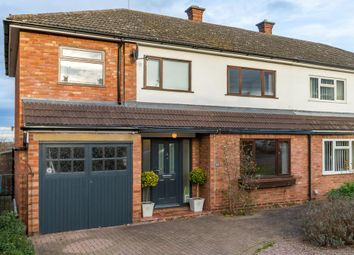 Thumbnail 4 bed semi-detached house for sale in Broad Oak Crescent, Bayston Hill, Shrewsbury