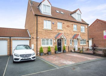Thumbnail 4 bed semi-detached house for sale in Heather Drive, Sherburn In Elmet, Leeds