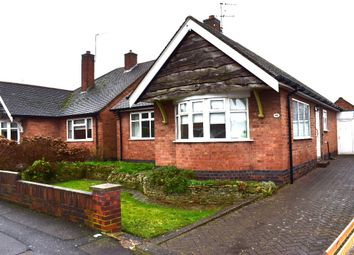Thumbnail 2 bedroom bungalow for sale in Castlegate Avenue, Birstall, Leicester
