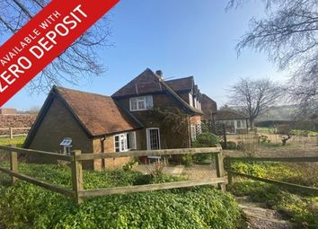 Thumbnail 1 bed flat to rent in Owslebury, Winchester
