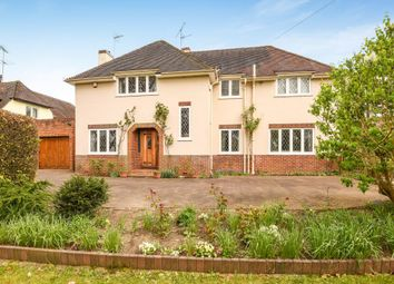 Thumbnail 4 bedroom detached house to rent in Ruscombe, Twyford
