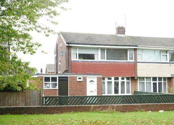 Thumbnail 3 bed semi-detached house for sale in Deneside, Westerhope, Newcastle Upon Tyne