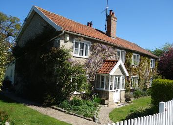 Thumbnail 4 bed detached house to rent in Church Road, Garboldisham, Diss