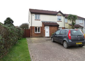 Thumbnail 2 bed end terrace house for sale in Battershall Close, Plymstock, Plymouth