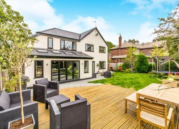 Thumbnail 5 bed detached house for sale in Kingsley Avenue, Wilmslow, Cheshire