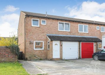 Thumbnail 3 bedroom end terrace house for sale in Derwent Road, Thatcham