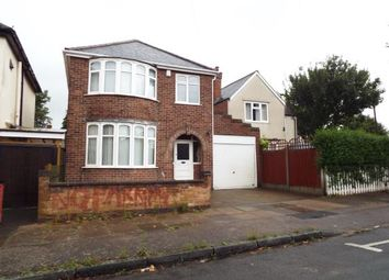 Thumbnail 3 bed detached house for sale in Naseby Road, Leicester, Leicestershire, England