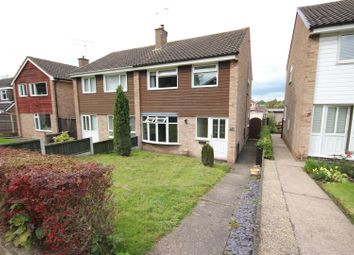 Thumbnail 3 bedroom semi-detached house for sale in Kingsmuir Road, Mickleover, Derby