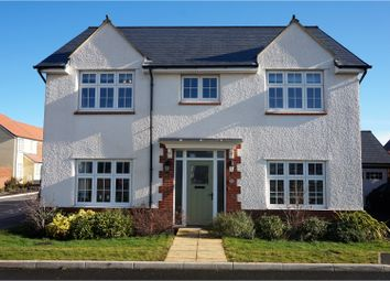 Thumbnail 4 bed detached house for sale in Bishops Close, Taunton