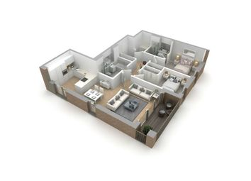 "Thumbnail 2 bed flat for sale in ""Type G"" at Jordanhill, Glasgow"