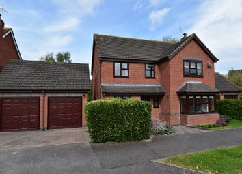 Thumbnail 4 bed detached house for sale in Dugard Way, Droitwich