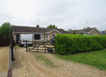 Thumbnail 3 bed detached bungalow for sale in Boughton Road, Fincham, King's Lynn