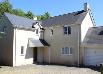 Thumbnail 4 bed detached house for sale in Land Adjacent Brynawel, Parc Road, Llangybi, Usk, Gwent