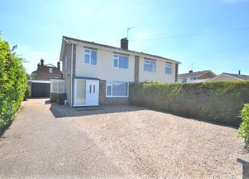 Thumbnail 3 bed semi-detached house for sale in Meadow Road, South Wootton, King's Lynn