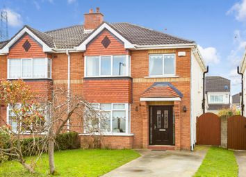Thumbnail 3 bed semi-detached house for sale in 20 Tullyhall Crescent, Lucan, Dublin